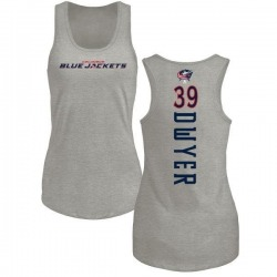 Women's Patrick Dwyer Columbus Blue Jackets Backer Tri-Blend Tank Top - Ash